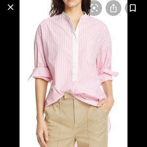 Alex Mill Lisboa Shirt pink Sz M